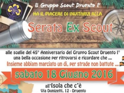 Serata Scout all'Isola