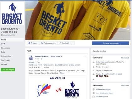 Su FB nascono le pagine sportive dell'Isola